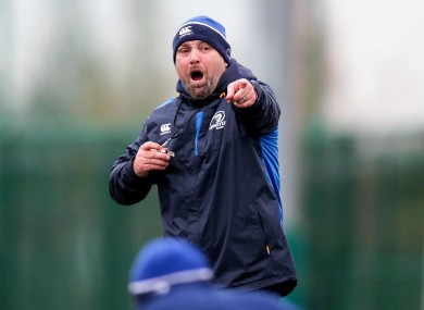 Leinster face Zebre this weekend.