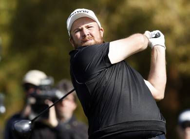 Ireland's Shane Lowry pictured at the Phoenix Open golf tournament.