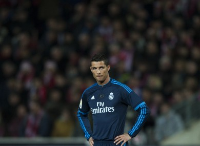 Ronaldo has hinted he could move away from Madrid in two years.