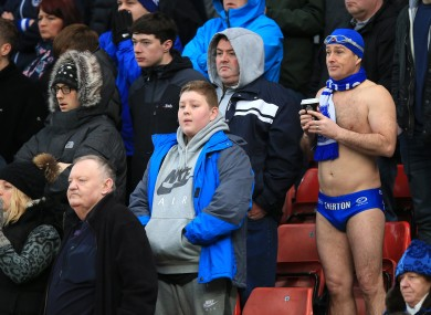 Everton fans feature prominently in our favourite moments of the month.