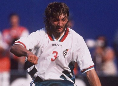 Ivanov earned 76 caps for Bulgaria and starred at  the 1994 World Cup.