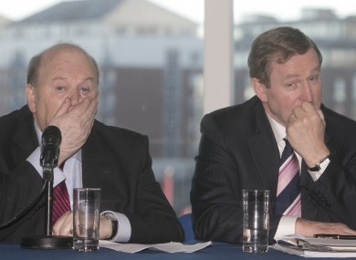 Lots of this among Fine Gael-ers over the weekend