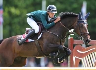 Bertram Allen has secured an Olympic spot for Ireland.