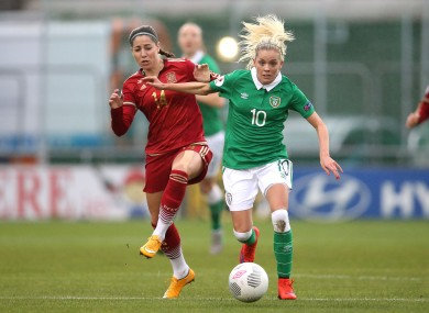 O'Sullivan has 46 caps for Ireland.
