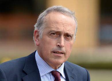 UEFA vice-president Giancarlo Abete.