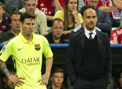 Could Messi and Guardiola work together again?