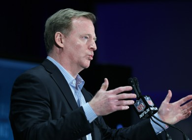 Roger Goodell has China in his hands.