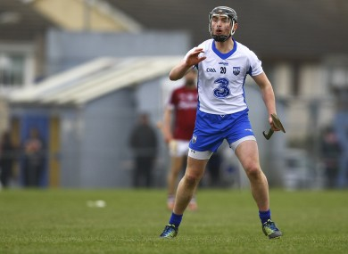 Mahony came on as a second-half sub on Sunday.