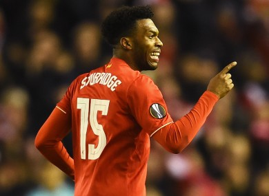 Daniel Sturridge has had numerous injury problems in recent months.