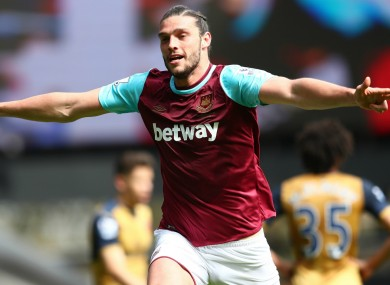 West Ham striker Andy Carroll believes he can be unplayable when in form.