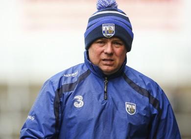 Waterford boss McGrath.