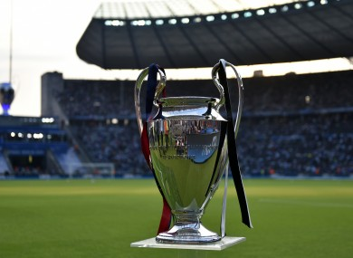 Four teams remain in contention for the Champions League trophy.