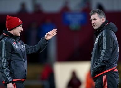Ian Costello (left) will join Nottingham as head coach next season.