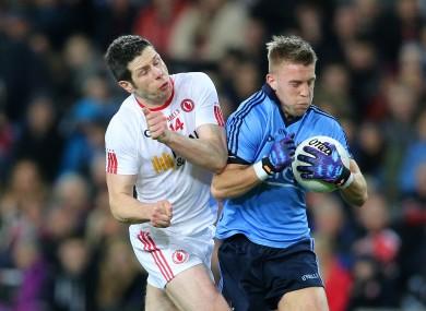 Cavanagh in action against Jonny Cooper last year.
