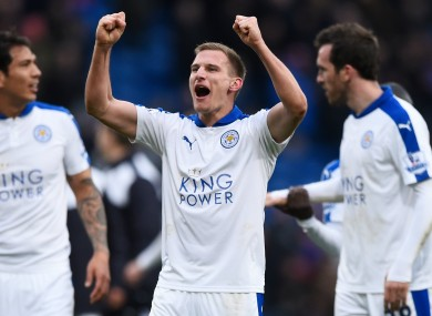 Leicester City midfielder Mark Albrighton