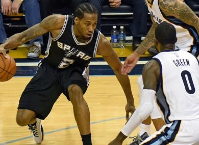 San Antonio Spurs star Kawhi Leonard