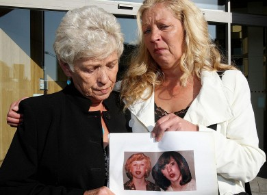 Christine Keegan (left) and her daughter Antoinette Keegan, whose sisters Mary and Martina perished in the fire.