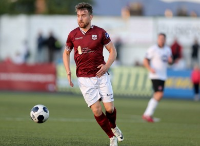 Galway United striker Vinny Faherty has seven goals this season  (file photo).