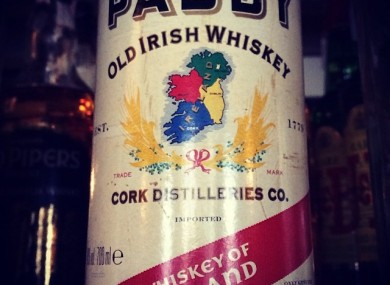 Paddy Irish Whiskey is the fourth-highest selling Irish whiskey brand worldwide.