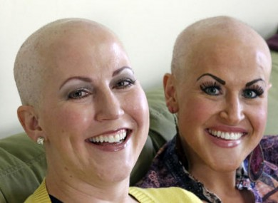 Annette Page, left, and her sister Sharee Page, attend treatment together.