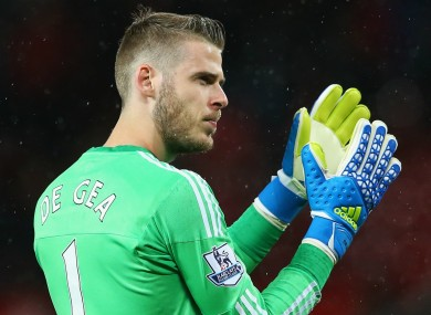 David De Gea wants to win a trophy this season.