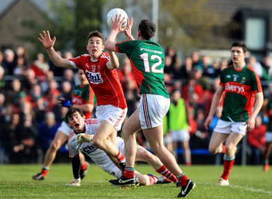 Diarmuid O'Connor bags Mayo's first goal in last weekend's All-Ireland U21 final.