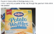 Irish people have been reporting 'sightings' of potato waffles across Australia