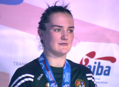Harrington: only the second Irish woman to win a medal at the worlds.