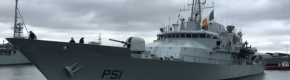 """""""A source of national pride"""" - Ireland's LE Róisín sets sail for the Mediterranean"""