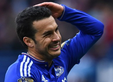 Chelsea forward Pedro has scored nine goals in all competitions this season.