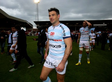 Mike Phillips after Racing 92's recent Champions Cup semi-final victory over Leicester Tigers.