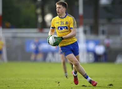 Roscommon's Ronan Daly is heading to the USA for the summer.