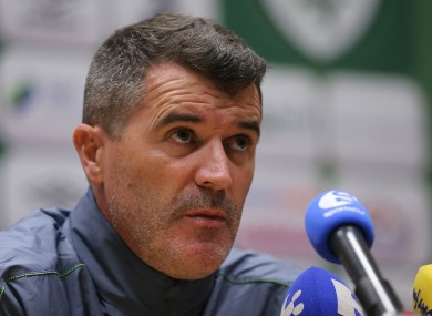 Roy Keane has been Ireland assistant boss since November 2013.