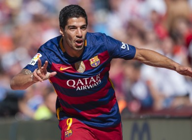 Suarez finished the season with 40 La Liga goals.