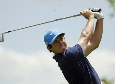 McIlroy returns this week after a break.