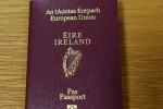 There's been an increase in queries about Irish passports today