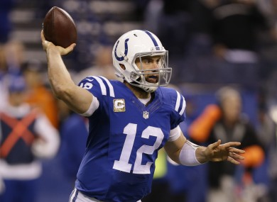 Andrew Luck will have to decide how to spend his many, many millions.