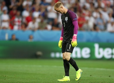 There was another howler for the Manchester City goalkeeper tonight.