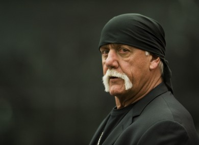 Hulk Hogan pictured arriving at court in Florida in March