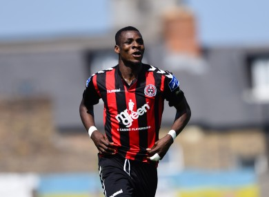 Ismahil Akinade was the hero for Boheimans.
