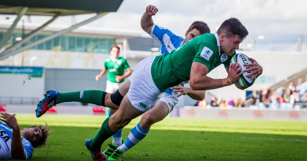 As it happened: Ireland v Argentina, World Rugby U20 Championship semi-final