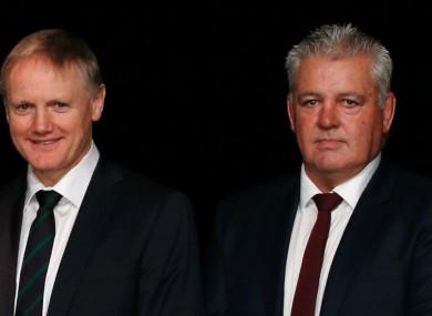 Ireland coach Joe Schmidt and Wales chief Warren Gatland
