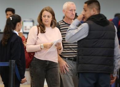 Drug mule Melissa Reid pictured in Peru earlier this week