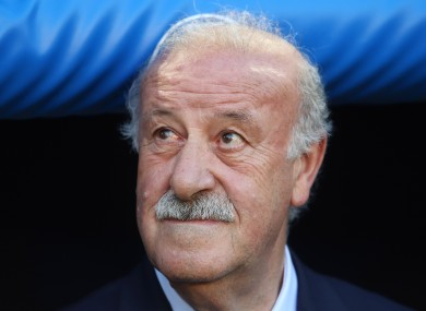 Vicente del Bosque saw his Spain side exit Euro 2016 in disappointing fashion at the hands of Italy.