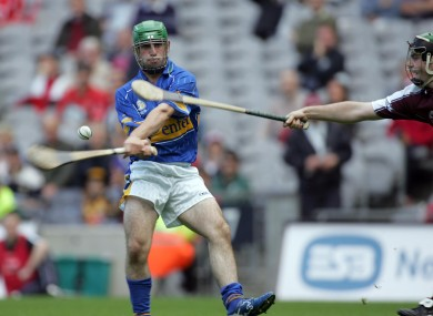 Timmy Dalton in action in the 2006 All-Ireland minor hurling final against Galway.