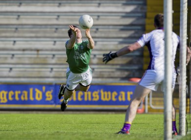 Tomás Corrigan in action for Fermanagh in Innovate Wexford Park.