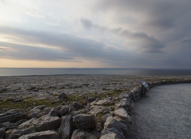 A viewing point in Fanore, Co Clare.(File)