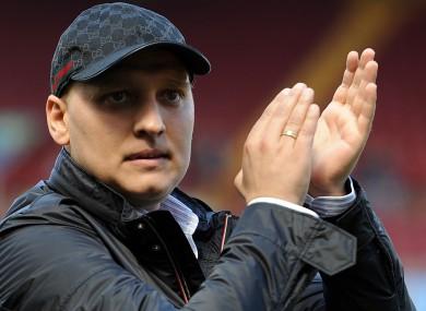 Former Aston Villa captain Stiliyan Petrov.