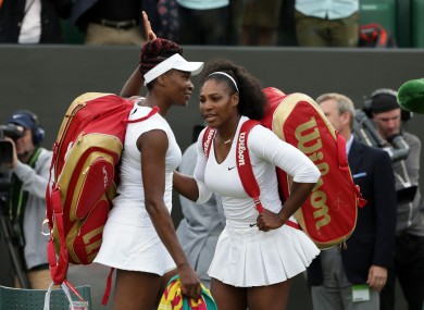 It is the 11th time that the sisters have advanced to the semi-finals of the same Grand Slam event.