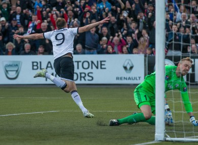 David McMillan scored the opener.